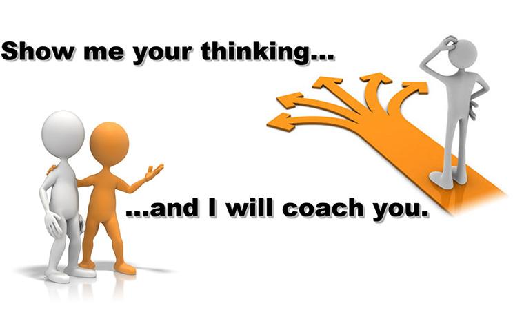 Träning i att göra och coacha problemlösning