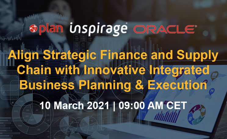 Webinar – Align Strategic Finance and Supply Chain with Innovative Integrated Business Planning & Execution